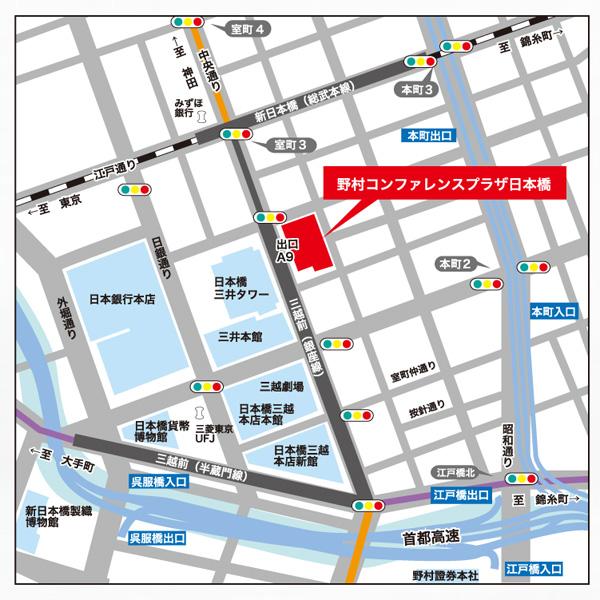 2016年 そめの近江 にっぽんの宝展 地図